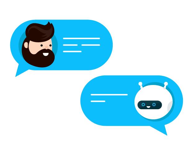 Chatbots sind künstliche, intelligente Software-Assistenten